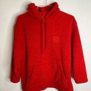 Lauren Ralph Lauren fleece pullover hoodie